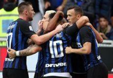 پیروزی پرگل خانگی اینتر مقابل جنووا