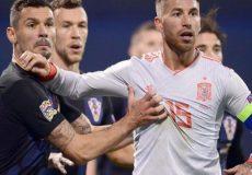 توهین و تمسخر لاورن به تیم ملی اسپانیا و راموس