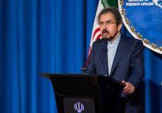 قاسمی: هیچ قطعنامهای برنامه موشکی و یا آزمایشهای موشکی ایران را ممنوع نکرده است