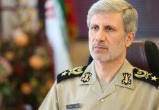 وزیر دفاع: پاسخ به اقدامات امریکا مطالبه و درخواست عمومی ملت ایران بود