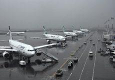 فرونشست تا حاشیه فرودگاه مهرآباد هم رسیده است