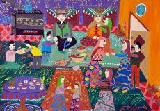 نقاشیهای کودکان ایرانی در ژاپن تقدیر شد