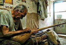 """""""مهارت ساختن و نواختن دوتار ایرانی"""" جهانی شد"""