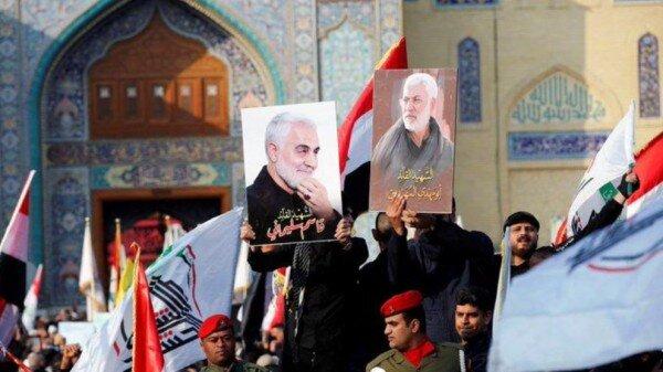 پیکر شهید سردار سلیمانی به مشهد انتقال یافت