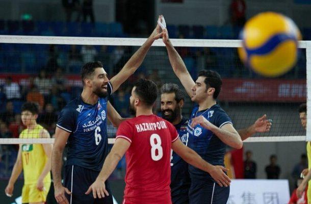 صعود مقتدرانه تیم ملی والیبال به نیمه نهایی با شکست چین