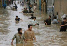 برخی شهرهای سیستان و بلوچستان در آب فرو رفته اند