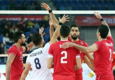 صعود مقتدرانه والیبال ایران به المپیک
