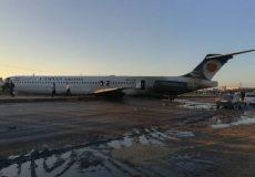 خروج هواپیمای مسافربری تهران – ماهشهر از باند