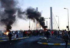 عراقیها به دولت یک هفته فرصت دادند/ آخرین وضعیت میادین تحصن نجف و بغداد