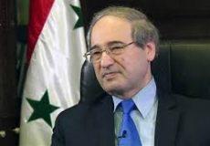 فیصل مقداد وزیر خارجه سوریه و بشار جعفری معاونش شد