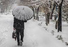 بارش برف و باران در نقاط مختلف کشور طی امروز و فردا