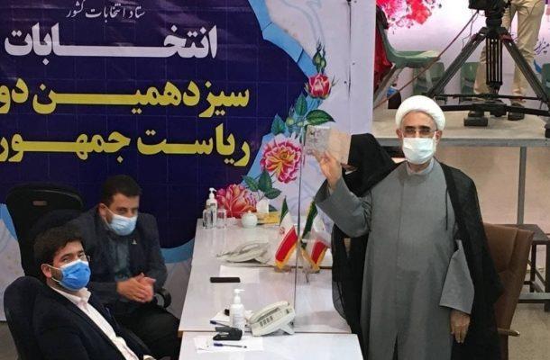 حجتالاسلام رهامی نیز ثبت نام کرد